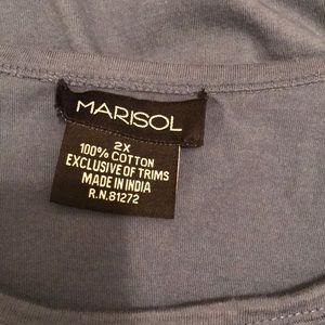 Marisol Tops - Blue summer top